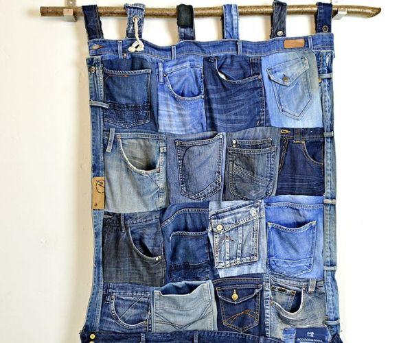 Denim Pocket Organiser