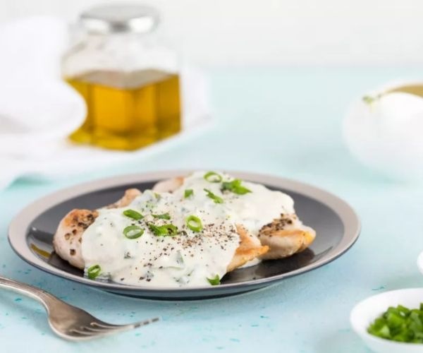 Chicken Breast With Creamy Parmesan Sauce