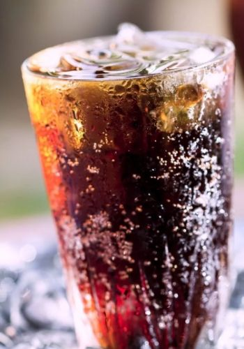 A Glass of Cranberry Coke