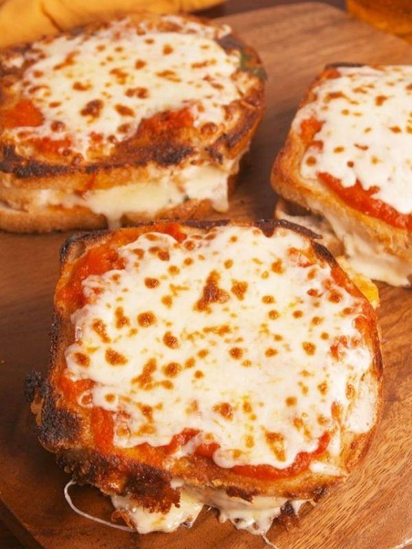 Chicken Parm Grilled Cheese