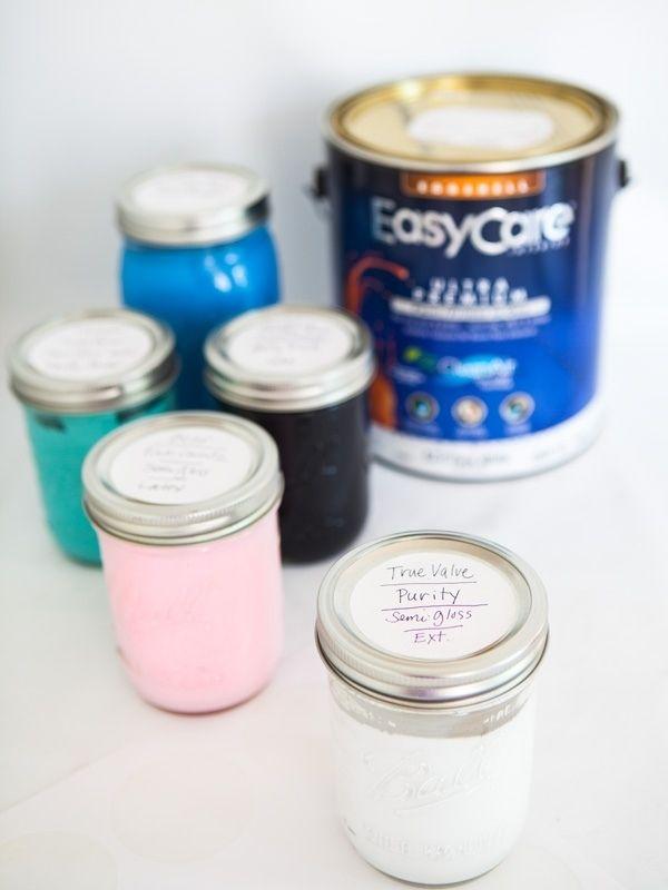 Leftover Storage Paint