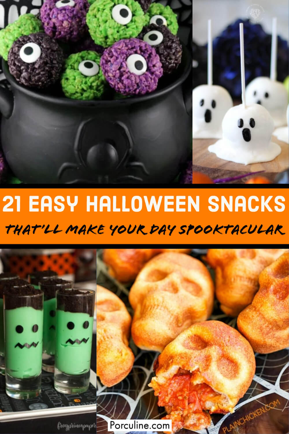 21 Easy Halloween Snack That'll Make Your Day Spooktacular - Porculine.com