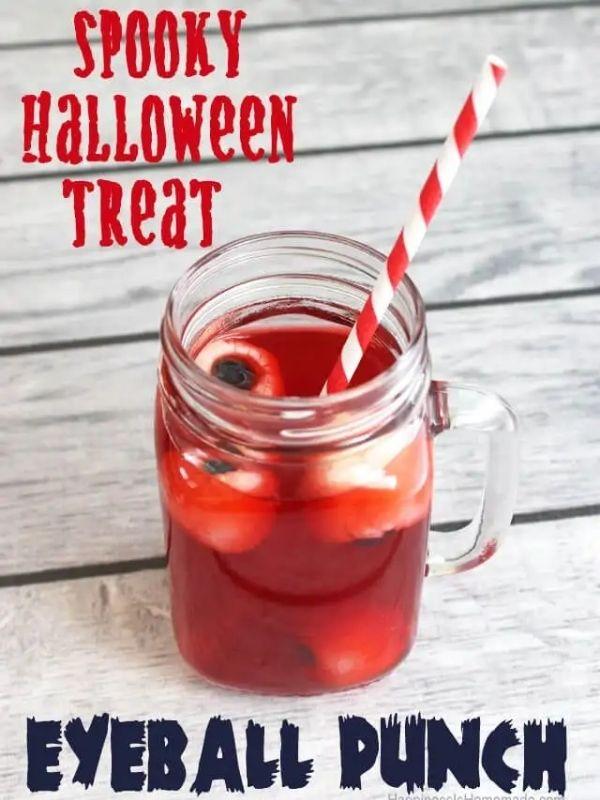 Spooky Halloween Eyeball Punch