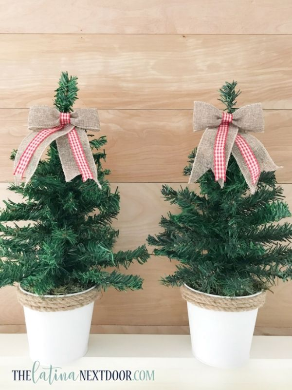DIY Dollar Tree Christmas Trees