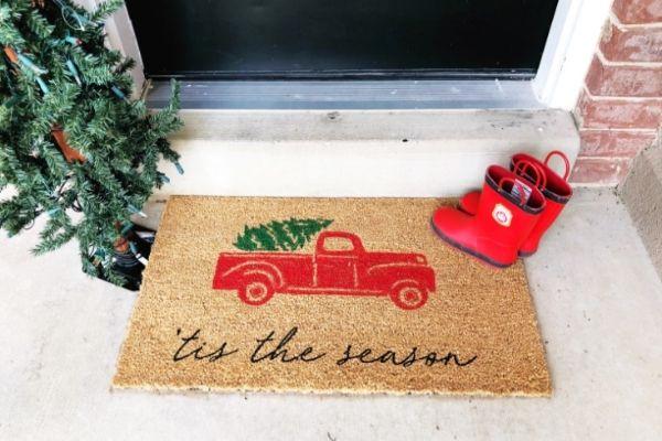 Holiday Doormat