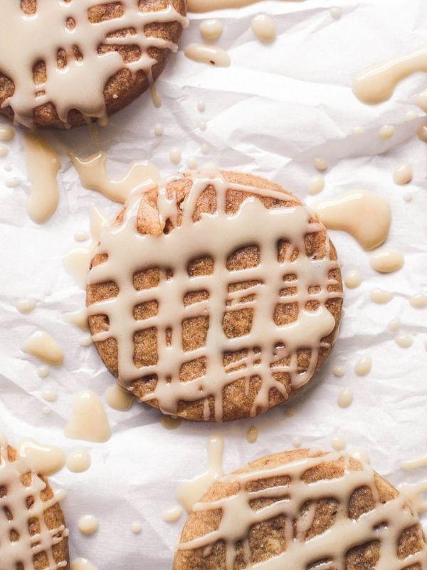 Honey Spice Hazelnut Cookies