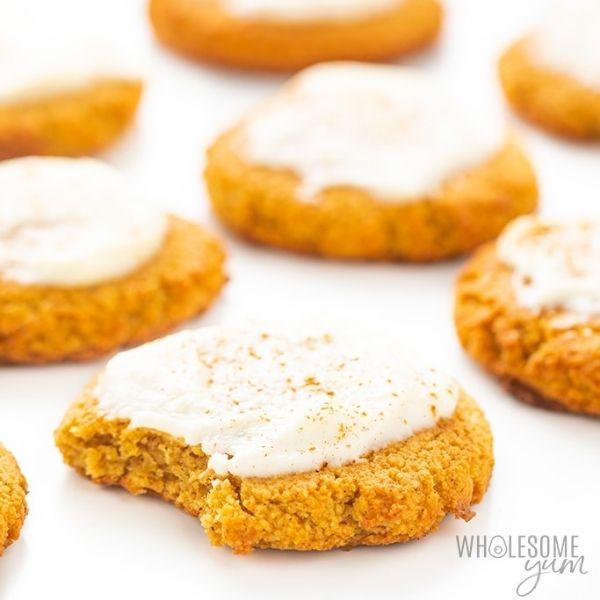 Low Carb Keto Pumpkin Cookies
