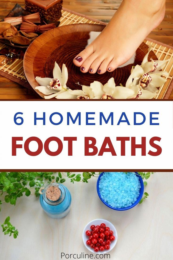 DIY Foot Baths