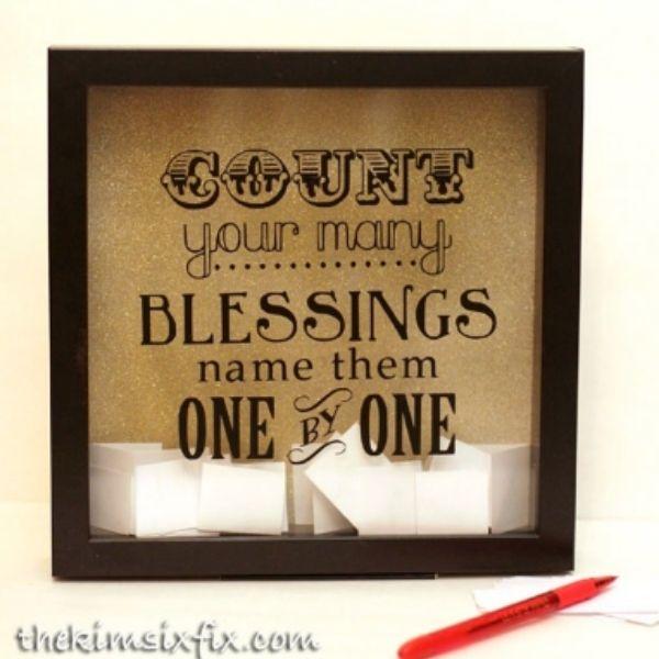 Blessings Shadow Box
