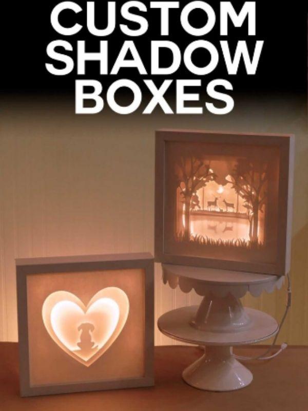 Cricut Shadow Box