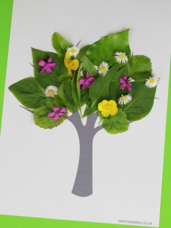 Tree Nature craft