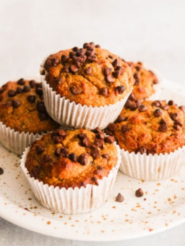 Sweet Potato Muffins With Chocolate Chips