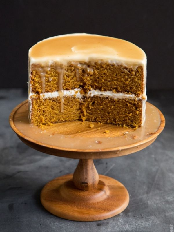 Butterscotch Pumpkin Cake