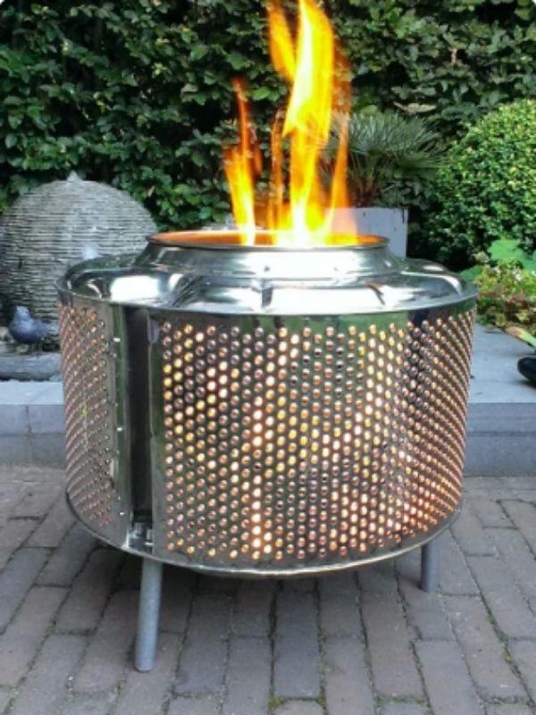 DIY Knalpot Fire Pit
