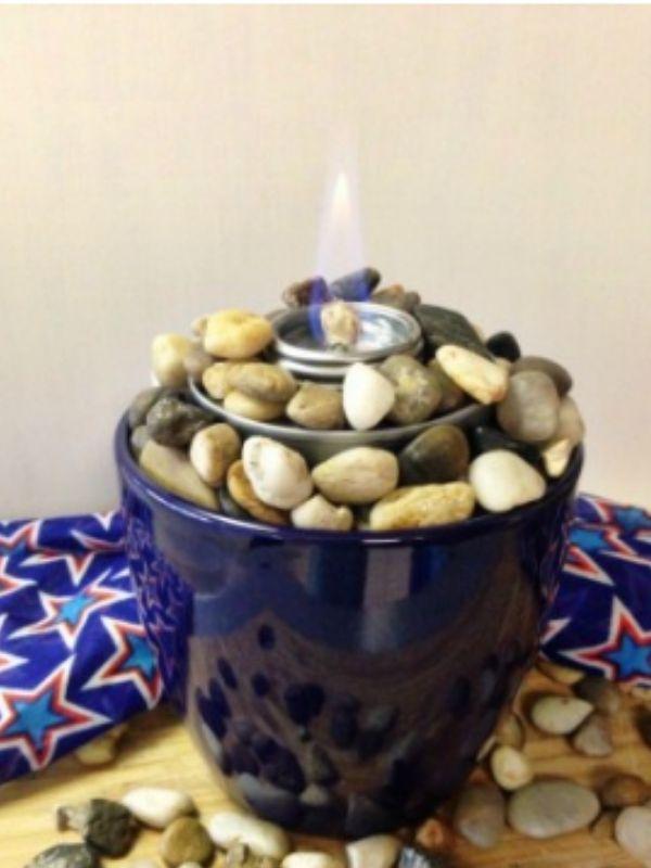 DIY Mini Tabletop Fire Pit