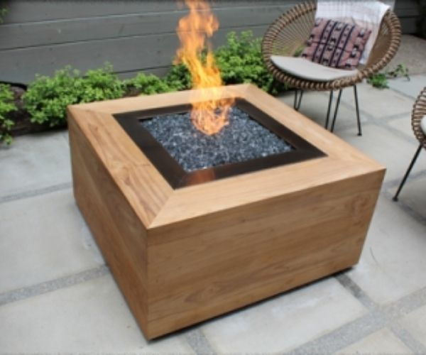 DIY Wood Fire Pit