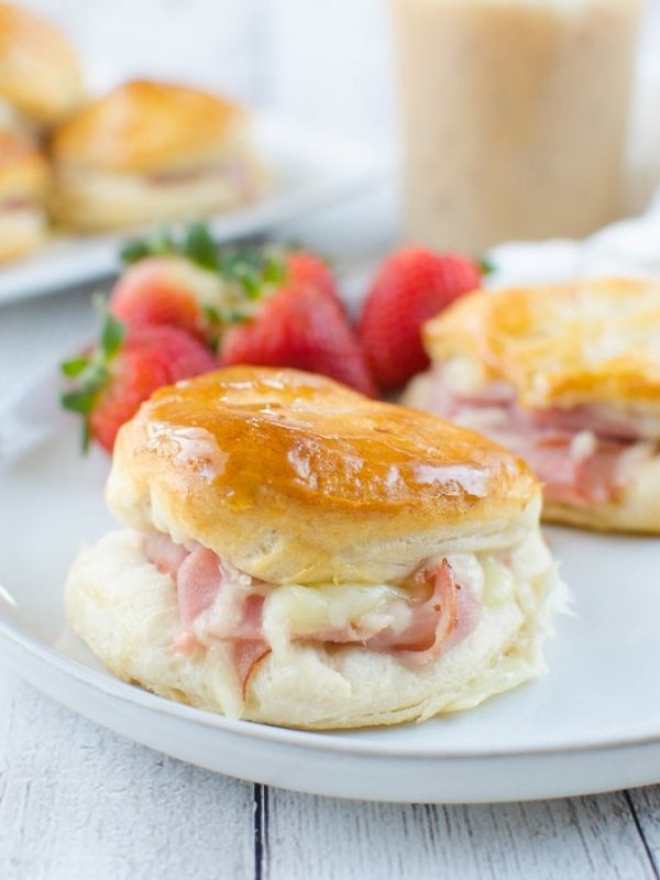 Honey Ham Biscuits