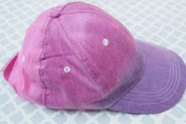 Ombré Tie-Dye Baseball Cap