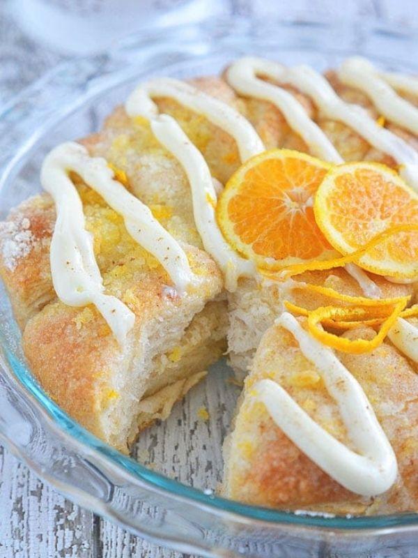 Orange Coffee Cake