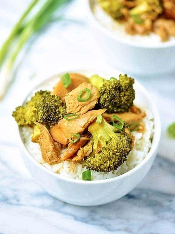 Crock Pot Chicken and Broccoli