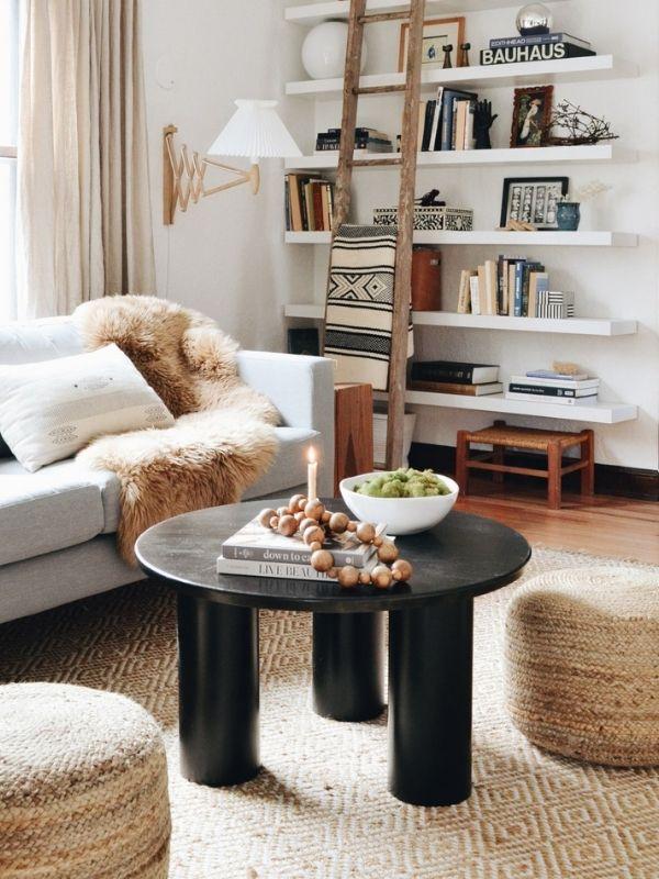 DIY Column Coffee Table