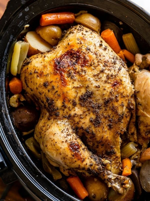 Whole Chicken with Veggies