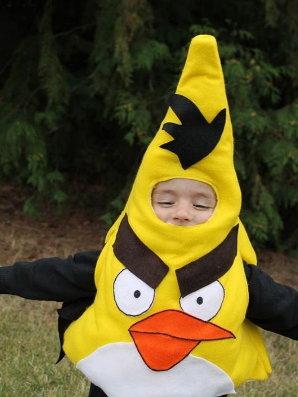 Angry Birds Costume Tutorials