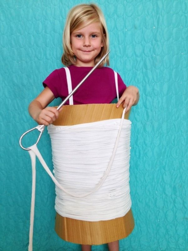 DIY Needle and Thread Costume