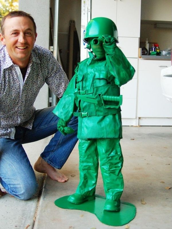 DIY Toy Army Costume