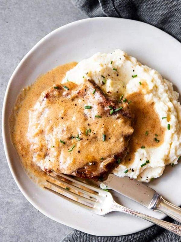 Instant Pot Sour Cream Pork Chops