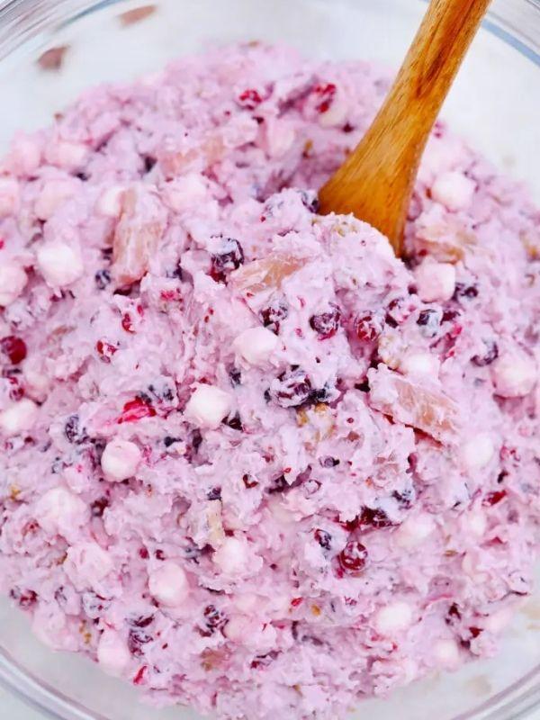 Millionaire Cranberry Salad