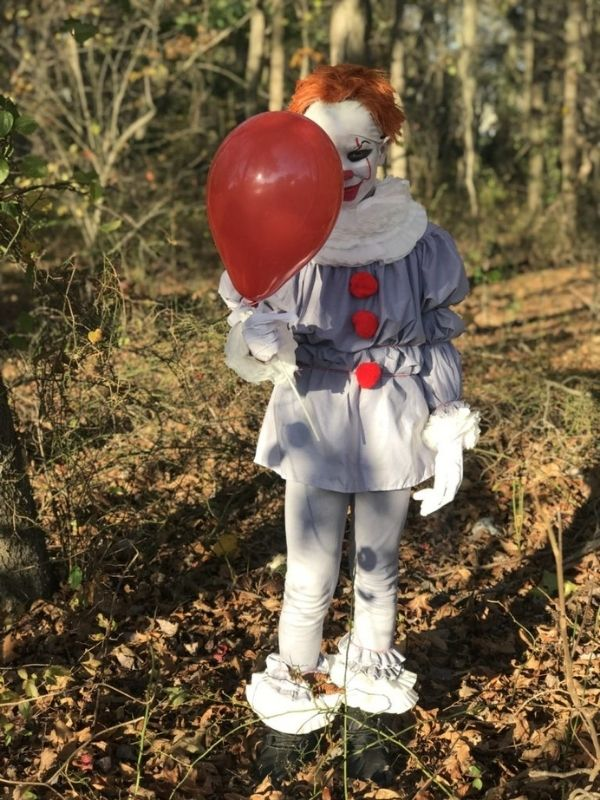 No-Sew DIY Pennywise