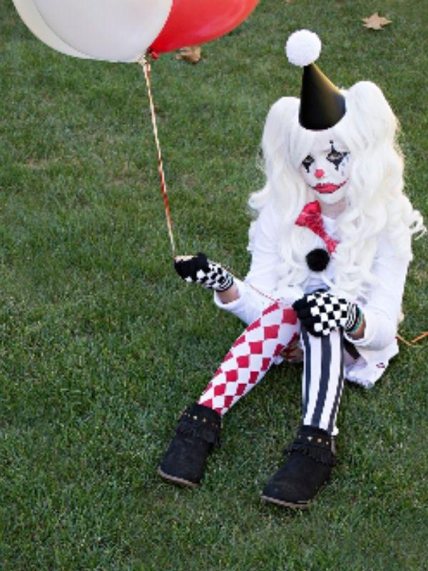 Sad Harlequin Costume
