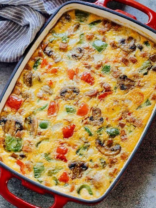 Baked Denver Omelet Breakfast Casserole