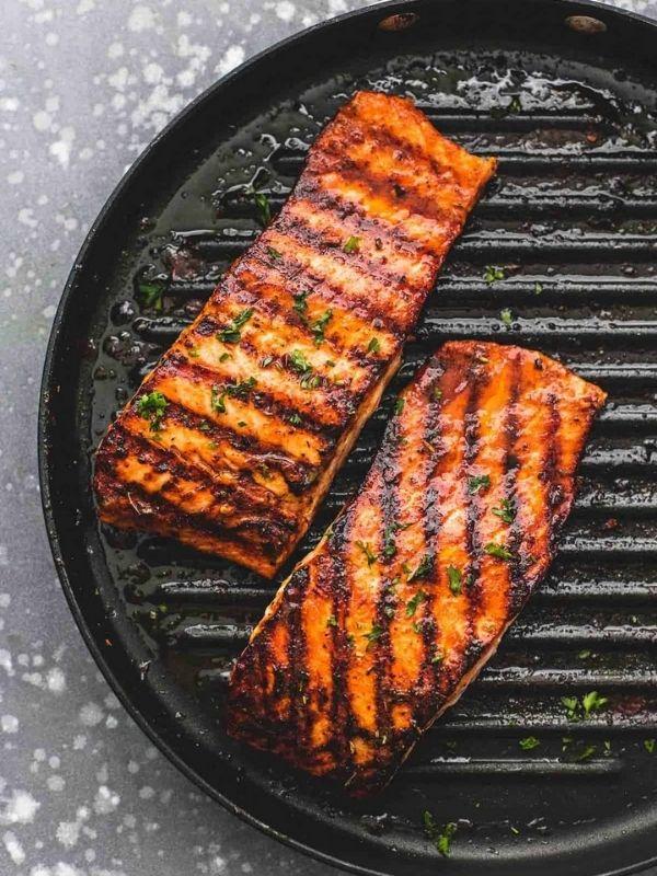 Cajun Grilled Salmon