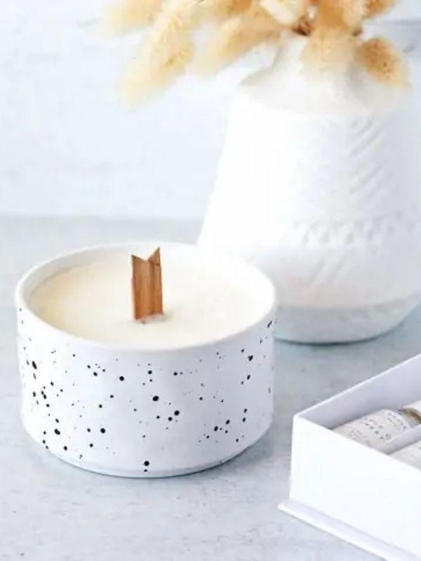DIY Creamy Vanilla Candles