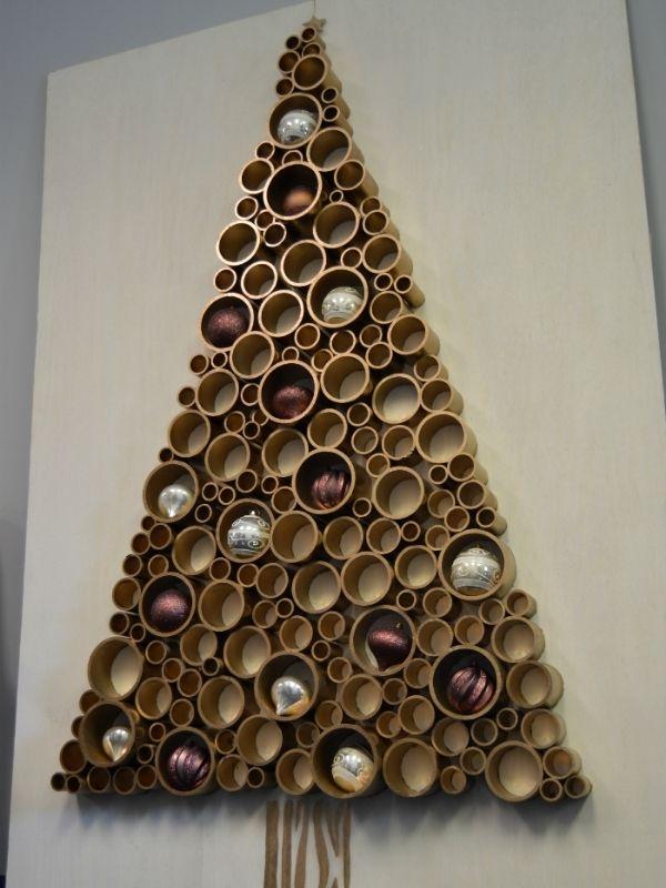 DIY PVC Christmas Tree