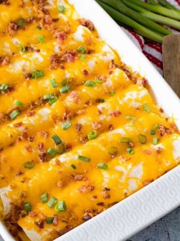 Overnight Breakfast Enchilada