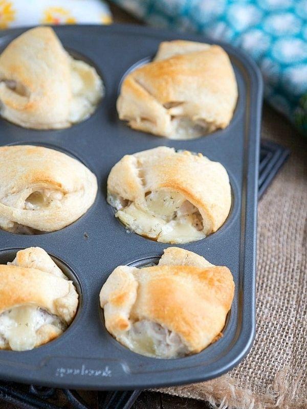 Turkey Muffin Tin Dumplings
